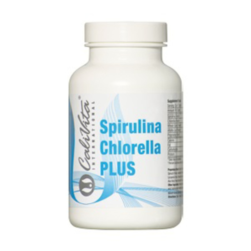 Спирулина и Хлорела (Spirulina Chlorella PLUS) CaliVita