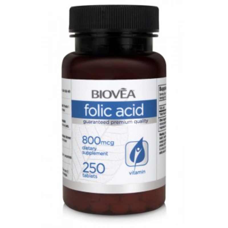 Фолиева киселина (FOLIC ACID Vitamin B9) Biovea
