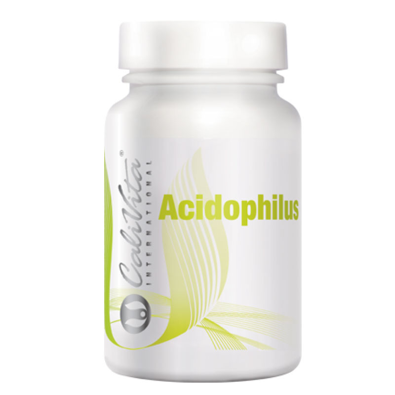 Жив лактобацилус ацидофилус с клей (Acidophilus) CaliVita