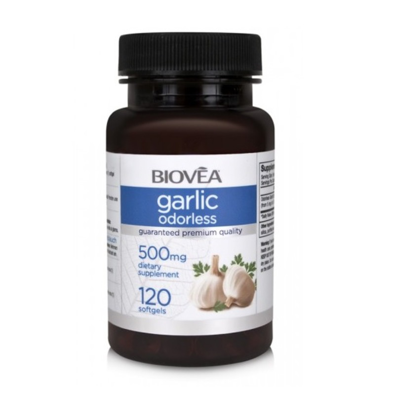 Чесън (GARLIC ODORLESS) Biovea