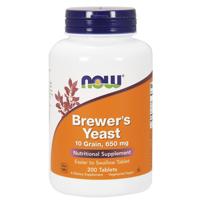 Бирена мая (Brewers Yeast) Now Foods