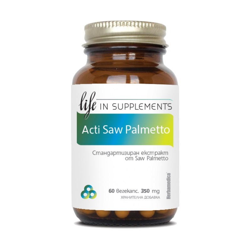 Акти Сао Палмето (Akti Saw Palmetto) Life in Supplements
