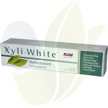 ����� �� ���� NOW Foods - XyliWhite Refreshmint